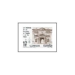 1981 - La Hacienda de los Borbones en España y en las Indias. (2642)