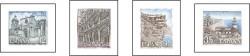 1986 - Paisajes y Monumentos. (2835-38)