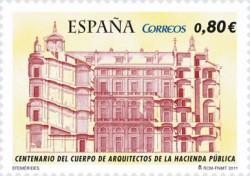 2011 - Centenario del Cuerpo de Arquitectos de la Hacienda Pública (4655)