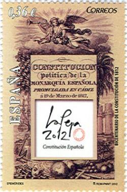 2012 - Bicentenario de la Constitución de 1812 . (4708)