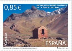 2012 - Infraestructuras postales en la época colonial. (4752)