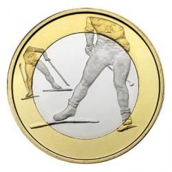 Finlandia 2016 5 Euros Esquí S/C
