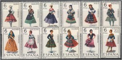 1967 - Trajes típìcos españoles. (1767-78)