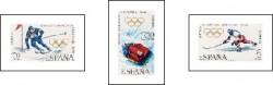 1968 - X Juegos Olímpicos de invierno en Grenoble. (1851-53)