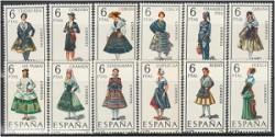 1968 - Trajes típicos españoles. (1839-50)