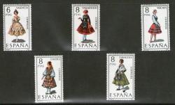 1971 - Trajes típicos españoles. (2014-18)