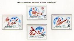 1982 - Copa Mundial de Fútbol ESPAÑA´82. (2661-62 y 2664-65)