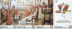1987 - 175 Aniversario de la Constitución de 1812. (2887-90)