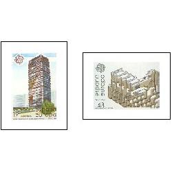 1987 - Europa. Artes modernas. Arquitectura. (2904-05)