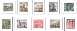 1964 - Serie Turística. Paisajes y Monumentos (11541-50)