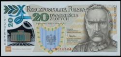 Polonia 20 Zlotych PK 187 (16-1-2.014) (Legiones) S/C