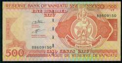 Vanuatu 500 Vatu Pk 14 (2.006) S/C