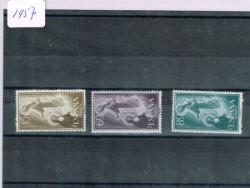 1957 Año completo de sellos