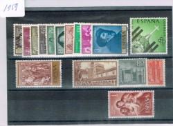 1959 Año completo de sellos