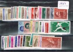 1960 Año completo de sellos