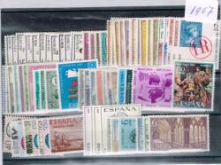 1967 Año completo de sellos
