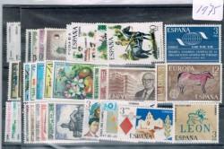 1975 Año completo de sellos