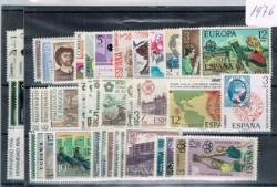 1976 Año completo de sellos