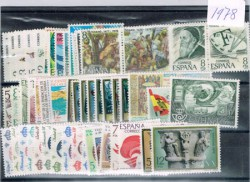 1978 Año completo de sellos