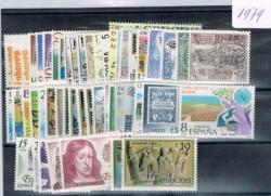 1979 Año completo de sellos