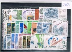 1982 Año completo de sellos