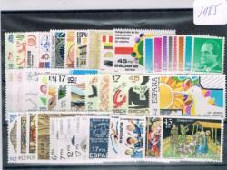 1985 Año completo de sellos