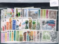1986 Año completo de sellos