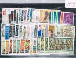1989 Año completo de sellos