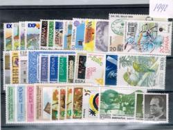 1990 Año completo de sellos