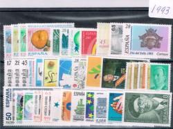 1993 Año completo de sellos