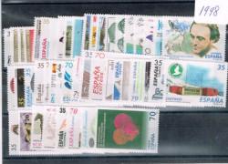 1998 Año completo de sellos