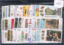 1999 Año completo de sellos