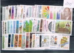 2001 Año completo de sellos