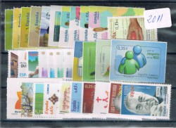 2011 Año completo de sellos