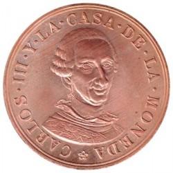 Medalla cobre 1988 Exposición Carlos III y la Casa de la Moneda EBC