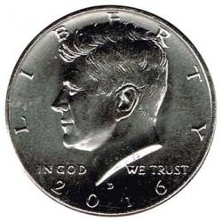 Estados Unidos (Kennedy) 2016 1/2 Dólar Kennedy Letra D S/C