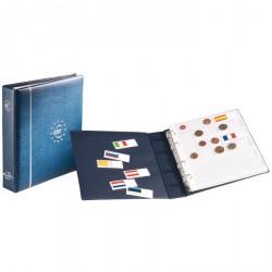 Álbum de monedas de euro en formato NUMIS, azul