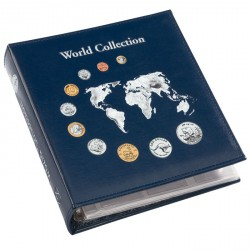 "Álbum para monedas NUMIS, ""World Collection"""