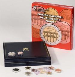 España 2016 Cartera Oficial 9 monedas PROOF