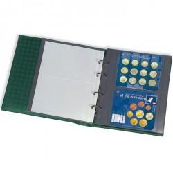 Hojas OPTIMA XL, 2 divisiones, transparentes