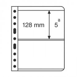 Hojas de plástico VARIO, 2 divisiones, transparente