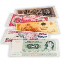 Fundas protectoras para billetes PREMIUM 176 x 90 mm