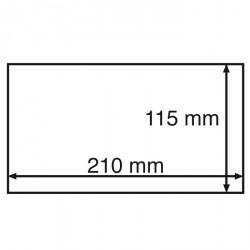 Cápsulas para billetes STABIL 190, formato int. 190 x 91 mm