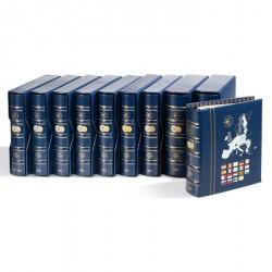 Álbum VISTA anual para monedas de euro 2005, con cajetín protector, azul