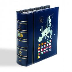 Álbum VISTA anual para monedas de euro 2013, con cajetín protector, azul