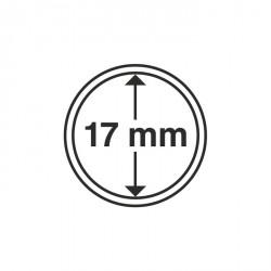 Cápsulas de monedas diámetro interior 17 mm