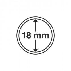 Cápsulas de monedas diámetro interior 18 mm
