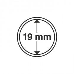 Cápsulas de monedas diámetro interior 19 mm