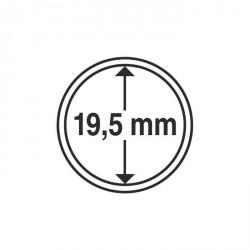 Cápsulas de monedas diámetro interior 19,5 mm