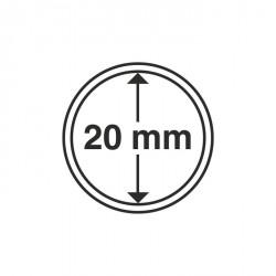 Cápsulas de monedas diámetro interior 20 mm